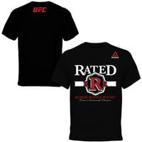 """Rowdy"" Ronda Rousey Reebok Weigh-In T-Shirt - Black"