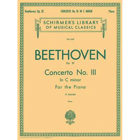 Schirmer's Library of Musical Classics: Concerto No. 3 in C Minor, Op. 37 (2-Piano Score): Schirmer Library of Classics Volume 623 National Federation of Music Clubs 2014-2016 Piano Duet