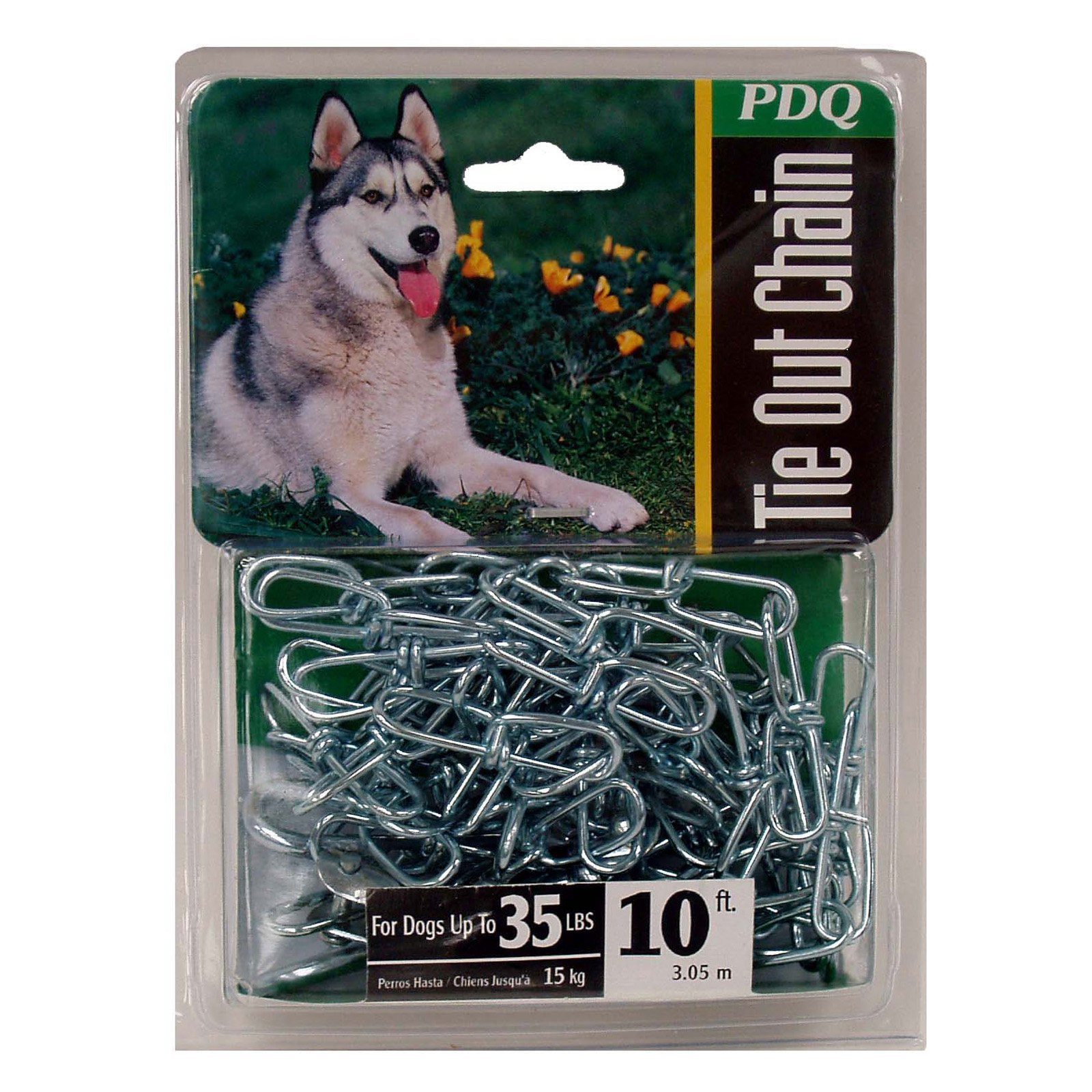Boss Pet 27210 10' Medium Swivel Chain Tie-Out