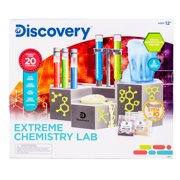 Discovery Extreme Chemistry Lab, 8-Piece STEM Kit with 20+ Activities