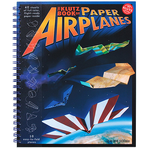 The Klutz Book of Paper Airplanes Kit
