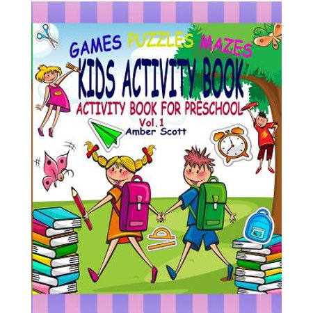 Kids Activity Book : (activity Book for Preschool) - ( Vol. - Halloween Activity Ideas For Preschool