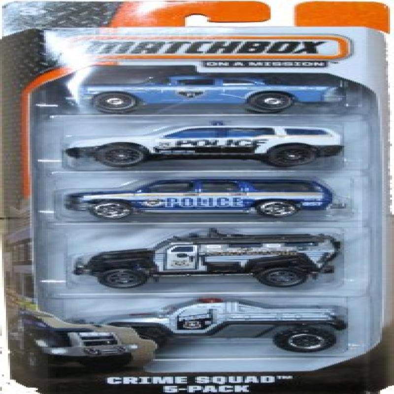 Matchbox 2014 On A Mission: Crime Squad 5-Pack by