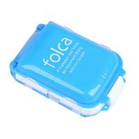 Portable Travel Weekly Medicine Organizer Box Pill Storage Case