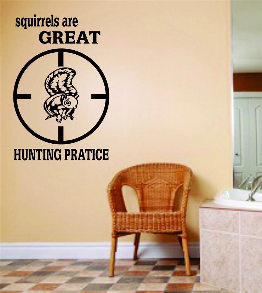 Custom Decals Death Dealer Animal Hunting Hunter Man Gun Boys Kids Bed Room Sports Hobby 10 X 20 Inches