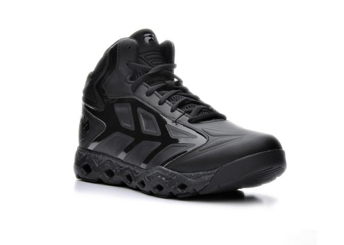 Fila TORRANADO Mens Black High Top Athletic Basketball Sneakers Shoes by