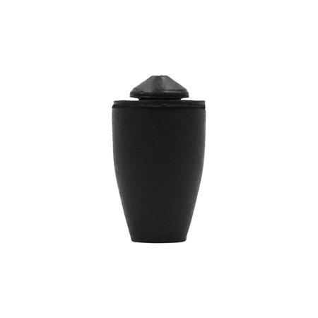 10pcs 24 x 43mm Black Buffer Mount Rubber Block Absorber for Car Door Trunk Hood - image 1 of 4