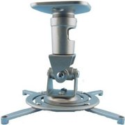 Amer.Com AMRP100S Projector Universal Ceiling Mount, Silver