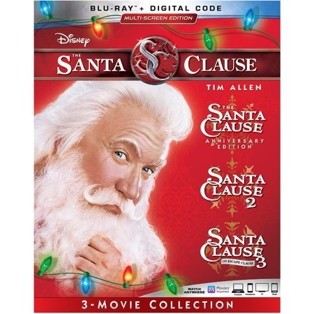 The Santa Clause 3-Movie Collection (Blu-ray + Digital