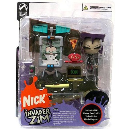Invader Zim Series 2 of Doom Gaz Action Figure
