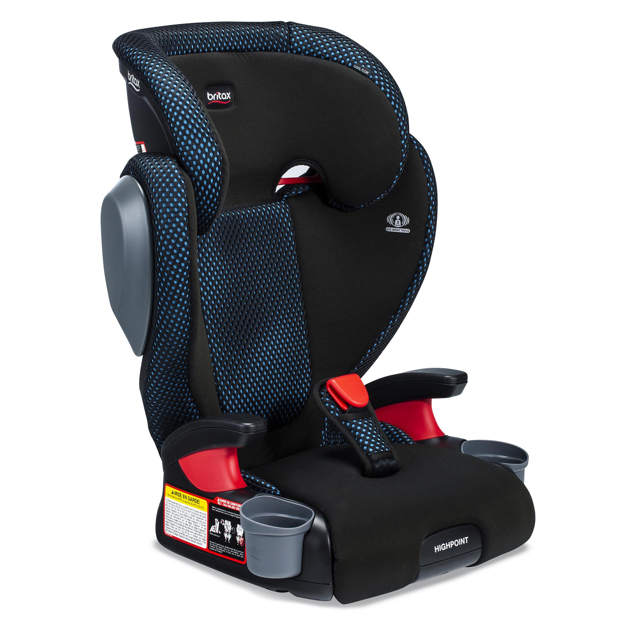 Britax Highpoint Cool Flow Belt-Positioning Booster Seat, Teal