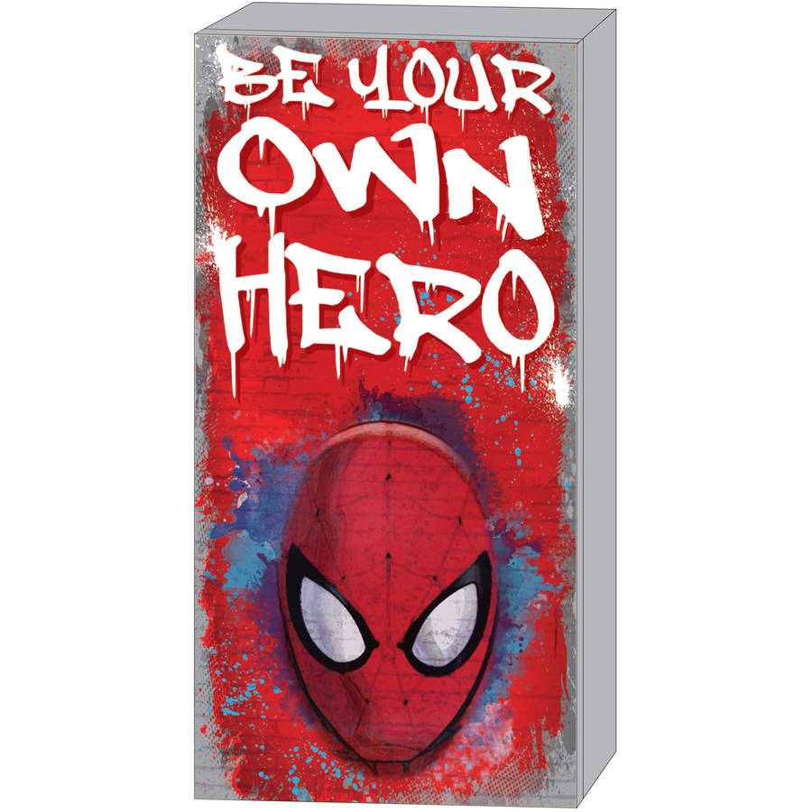 Marvel Spider-Man Inspirational MDF Wall Art