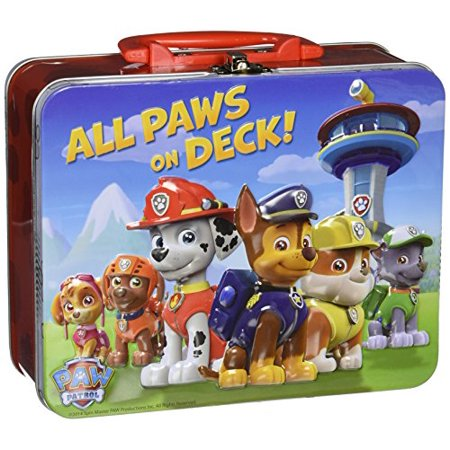 All Paws on Deck Paw Patrol Puzzle in Tin, 24 Pieces (8 x 6 x 3) - Paw Patrol Halloween Puzzle