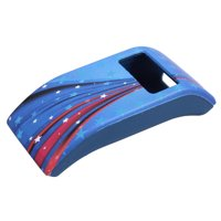 Codream For Fitbit Charge / Fitbit Charge HR Stars and Stripes Pattern Soft Silicone Band Cover Protective Case Ultra Slim Sleeve Protector - Blue