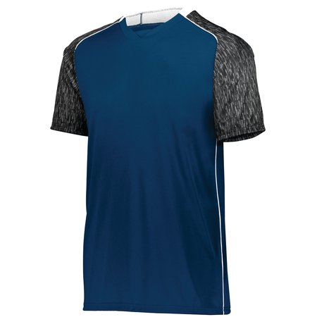 HighFive 322941 Youth Hawthorn Soccer Jersey, Black/Black Print/White, XS