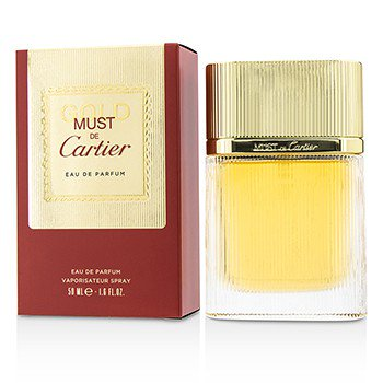 - Must De Cartier Gold Eau De Parfum Spray 1.6oz