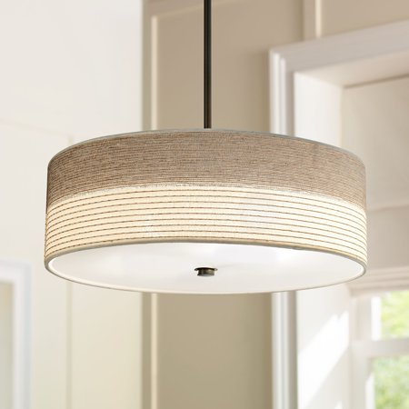 Regency Hill Fabric Shade with Bronze 20