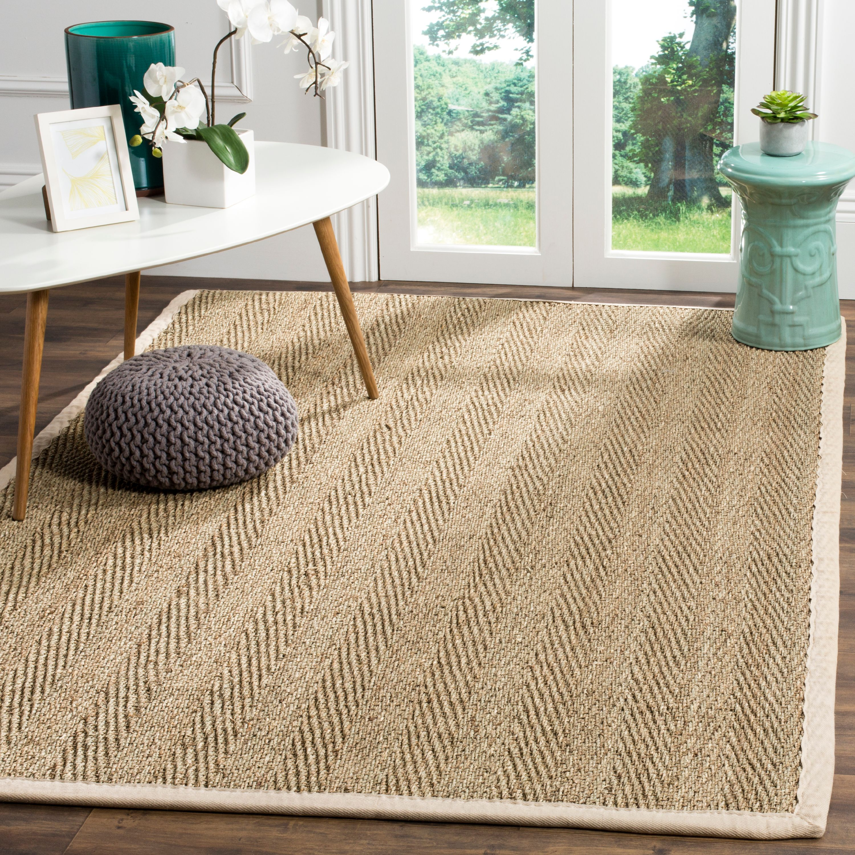 Safavieh Natural Fiber Maisy Border Area Rug or Runner