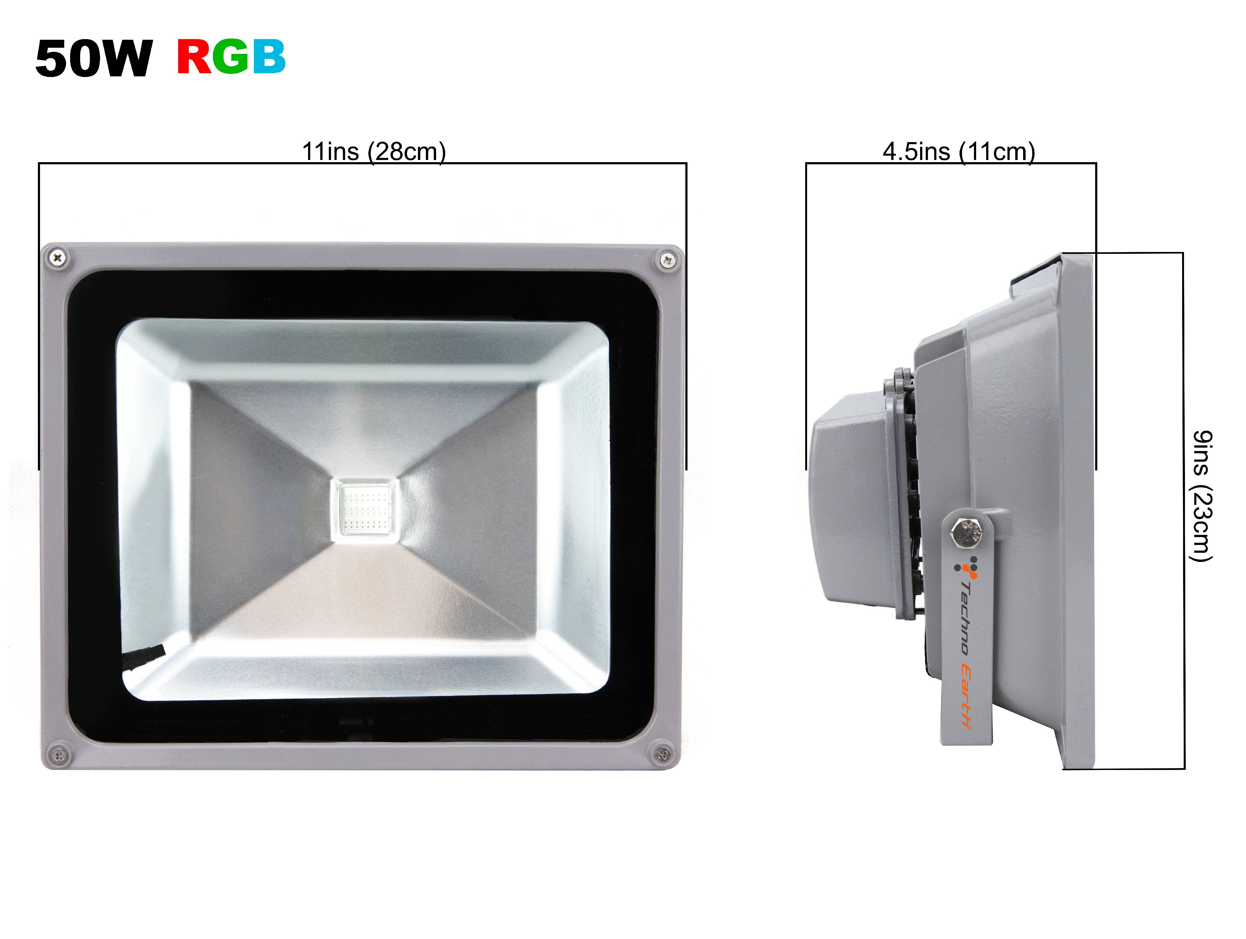 Remote Control Rgb Led Flood Lights