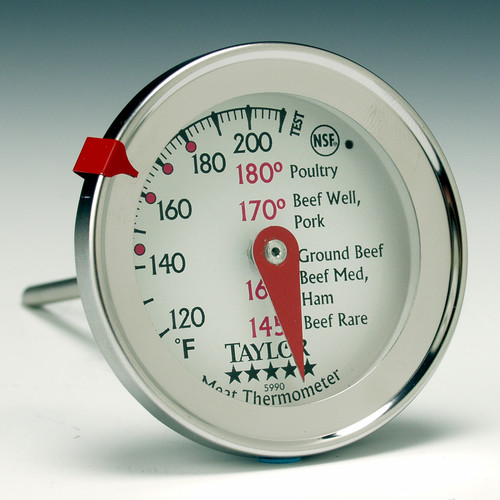 Taylor Five Star Commercial Professional Meat Thermometer (Set of 6)