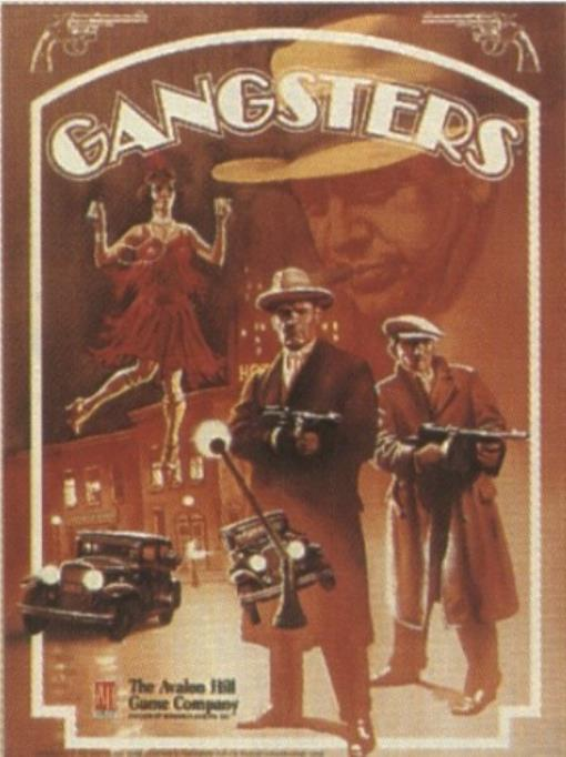 Gangsters Great Condition by Avalon Hill