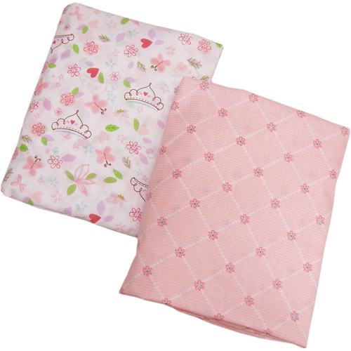 Disney - Princess Happily Ever After Crib Sheets, 2-Pack