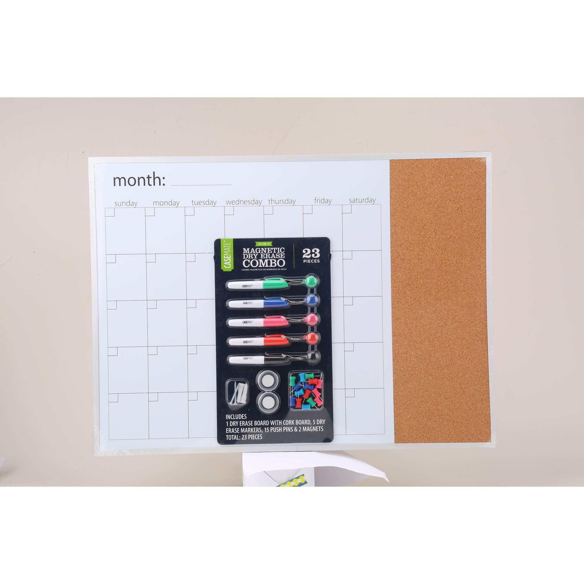 Chalkboard Calendar Walmart : Dry erase calendar with cork board pixshark