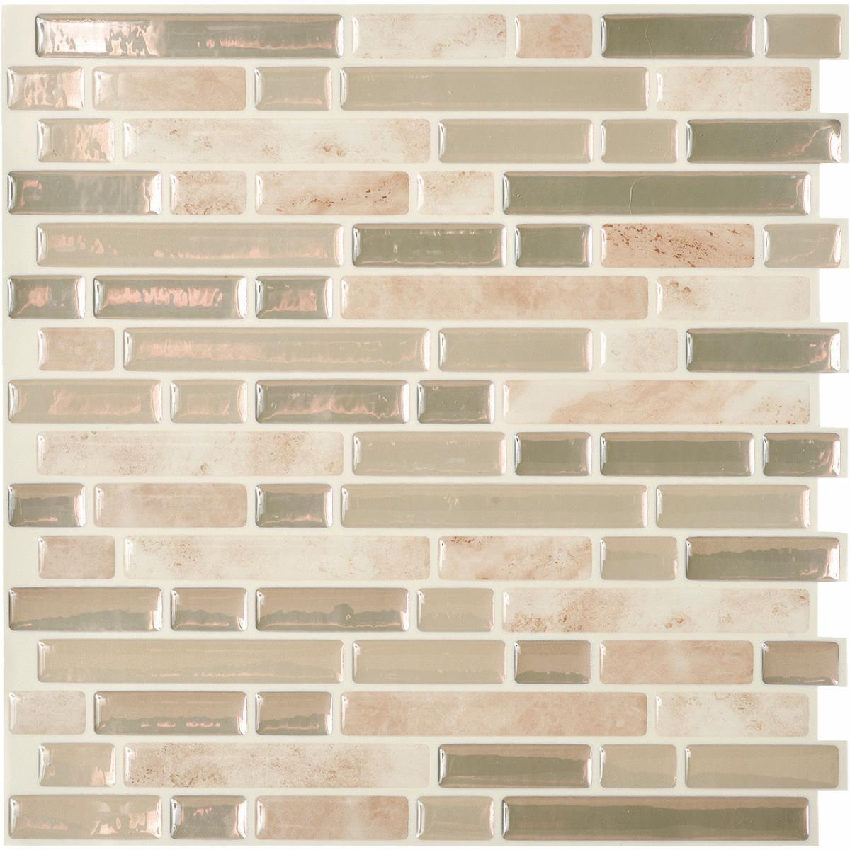 Peel And Stick Metal Wall Tile