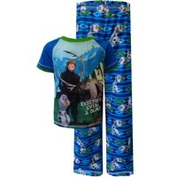 Disney Boys' Disney Frozen Olaf with Kristoff and Sven Pajama