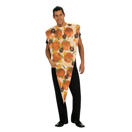 Adult Pizza Slice Halloween Costume - Mini Pizzas Halloween