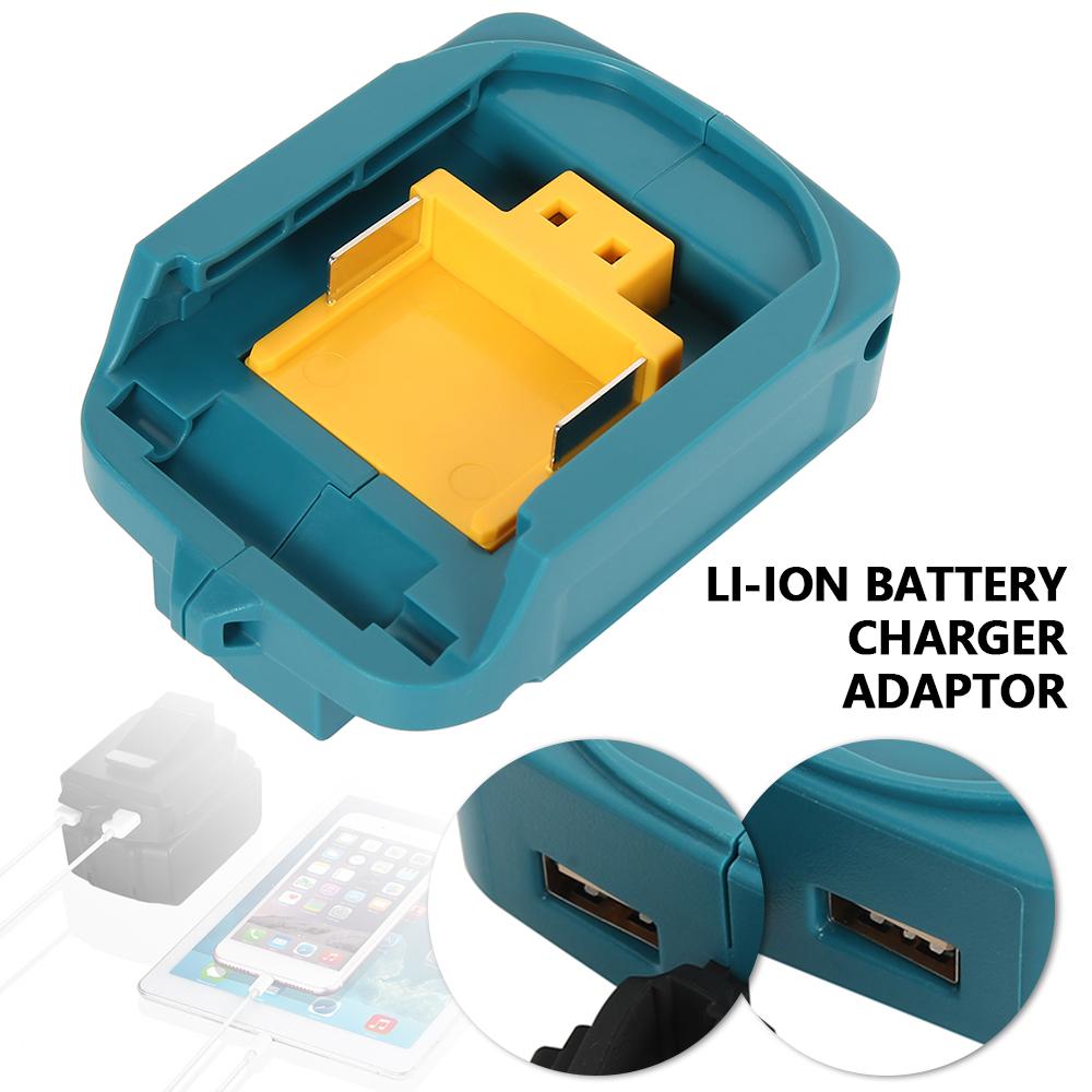 Phone Charger Adaptor Li-ion Battery Adapter For Makita 18V 14.4V BL1830//1430