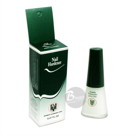 Quimica Alemana Nail Hardener Strengthener Polish Treatment, 0.47 Oz