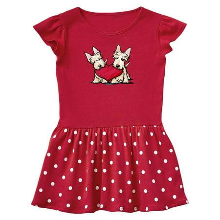 Duo Fancy Dress Ideas (Heartfelt Scottie Duo Toddler Dress -)