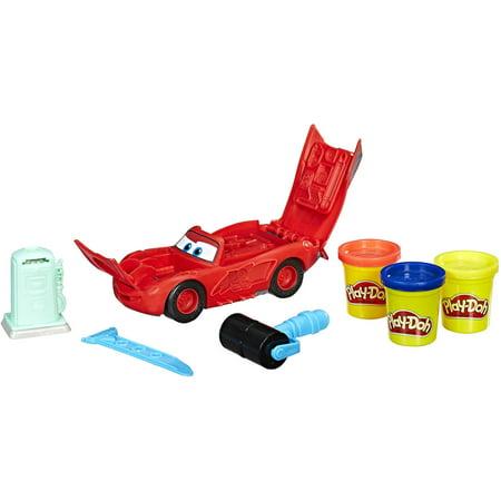Play Doh Disney Pixar Cars Lightning Mcqueen