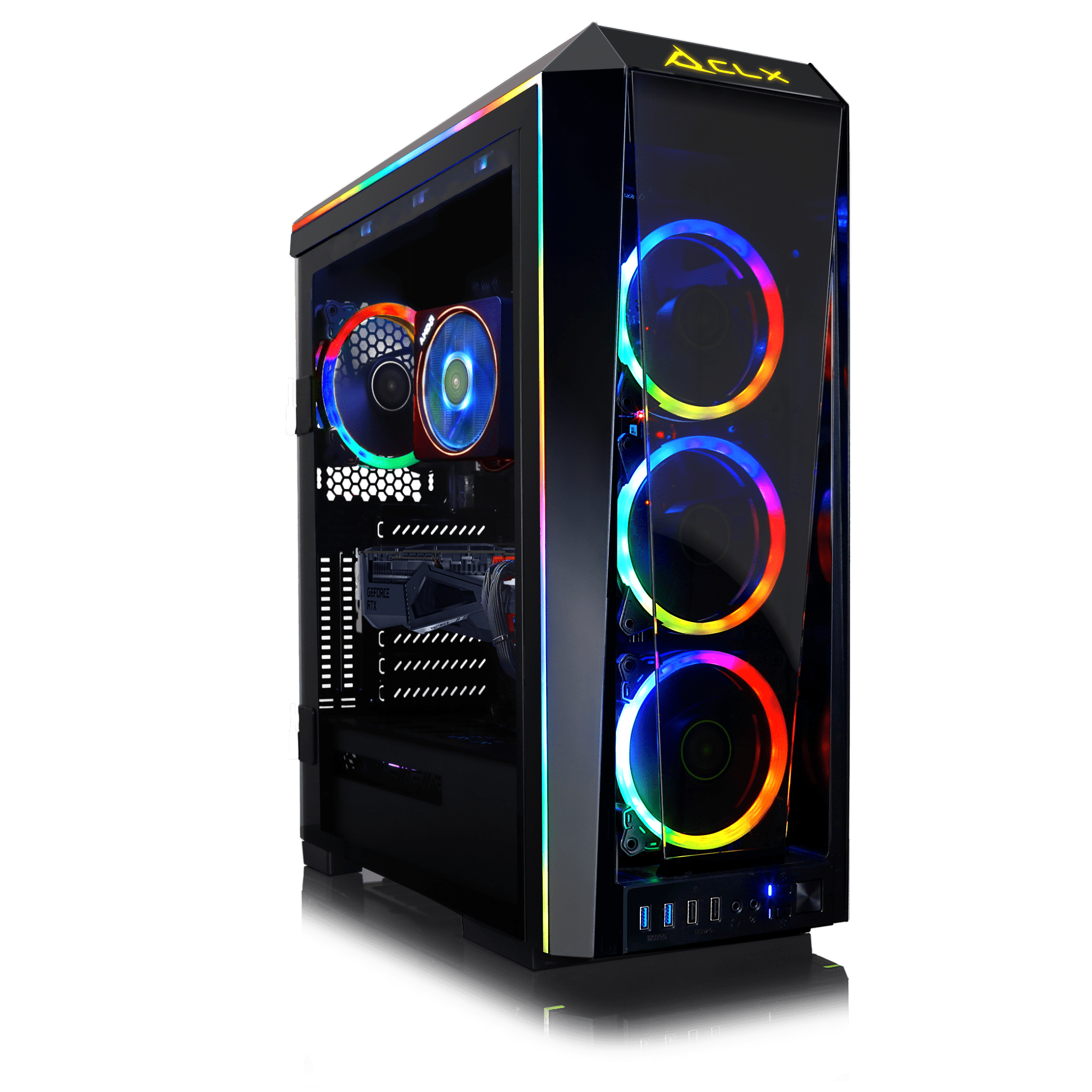 Clx Set Vr Ready Gaming Desktop W Amd Ryzen 7 3800x 8 Core 3 9ghz Processor 32gb Ddr4 Memory Nvidia Geforce Rtx 2070 Super 8gb Graphics 1 Tb Ssd 3 Tb Hdd Wifi Windows 10