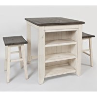 Jofran Madison County 3 Piece Counter Height Dining Set