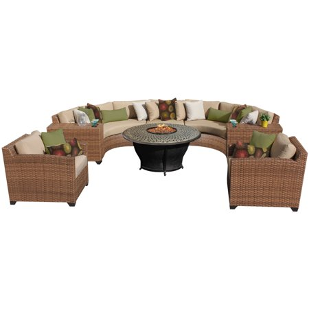 tuscan 8 piece outdoor wicker patio furniture set 08h