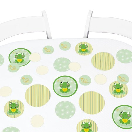 Froggy Frog Baby Shower Or Birthday Party Giant Circle Confetti