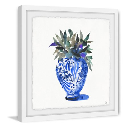 Marmont Hill Leafy Chinoiserie Framed Wall Art