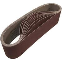Fashion Style Sandpaper Sanding Belt Abrasive Band Sander Durable Aluminum Oxide 40-120 Grit~# Abrasive Tools