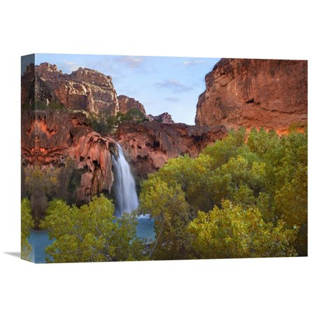 Global Gallery Havasu Falls Grand Canyon Arizona Horizontal Wall - Grand Gallery Presents