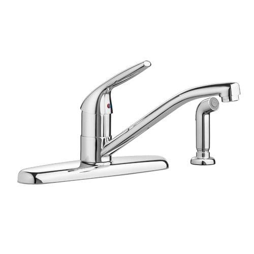 American Standard Colony Single Handle Deck Mounted Kitchen Faucet Walmart Com Walmart Com