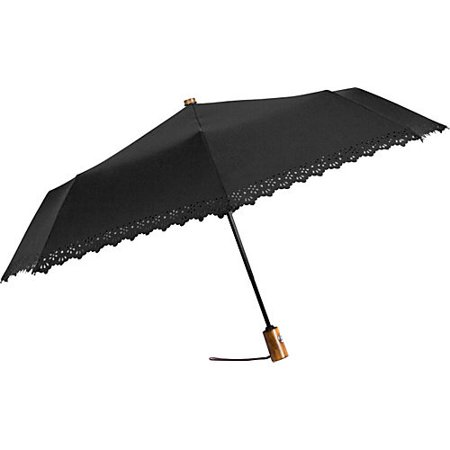 FUTAI 91016-050 EYELET UMBRELLA, BLACK