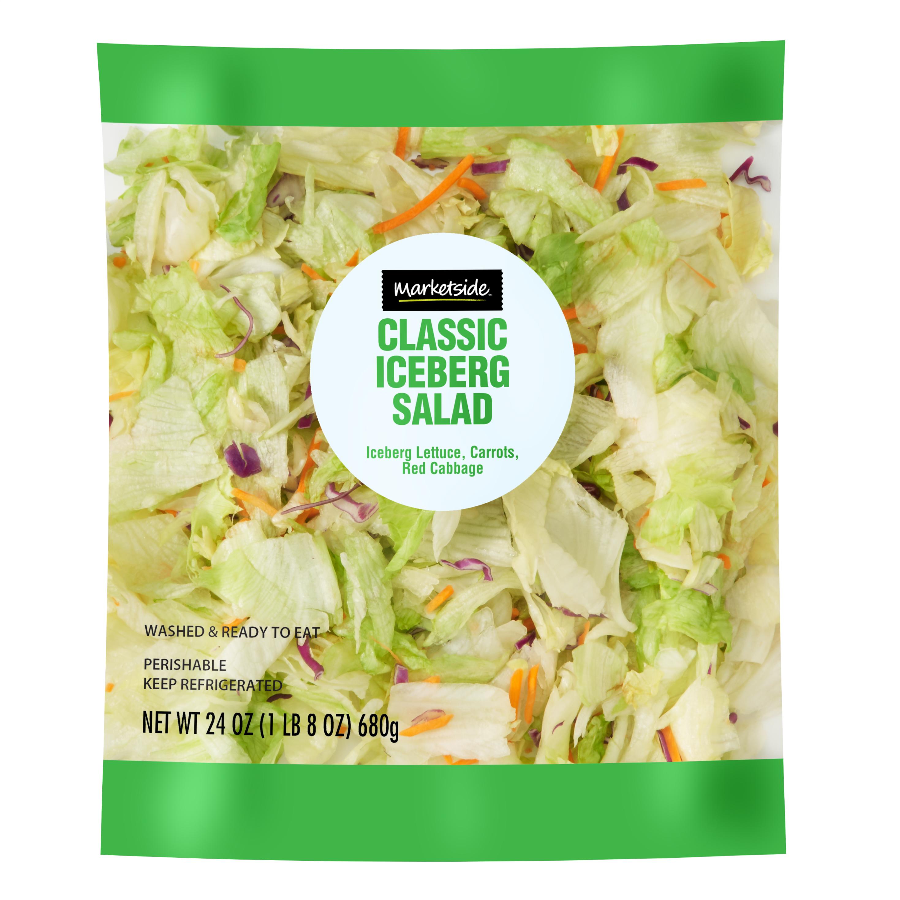 Marketside Classic Iceberg Salad, 24 oz