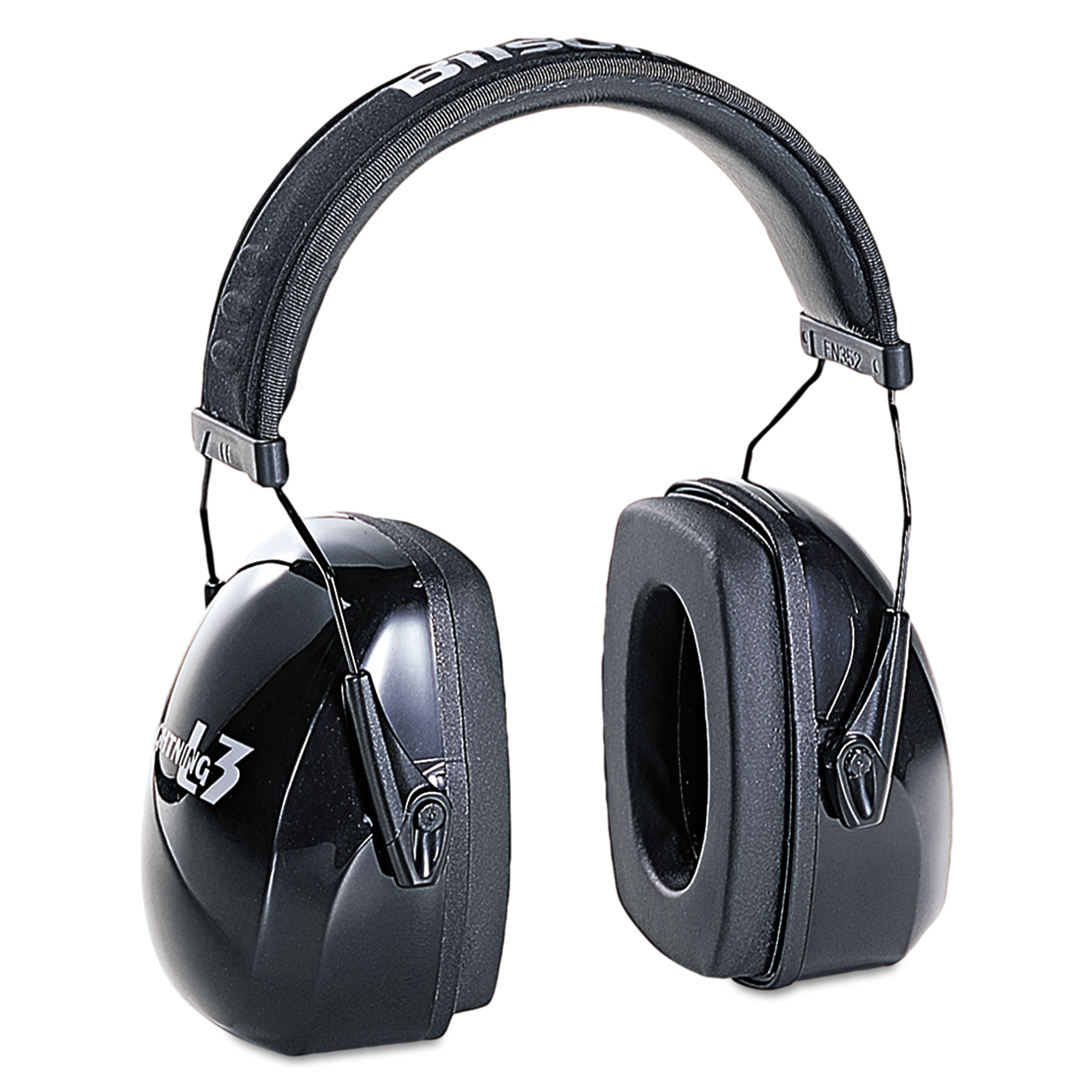 Howard Leight by Honeywell Leightning L3 Noise-Blocking Earmuffs, 30NRR, Black