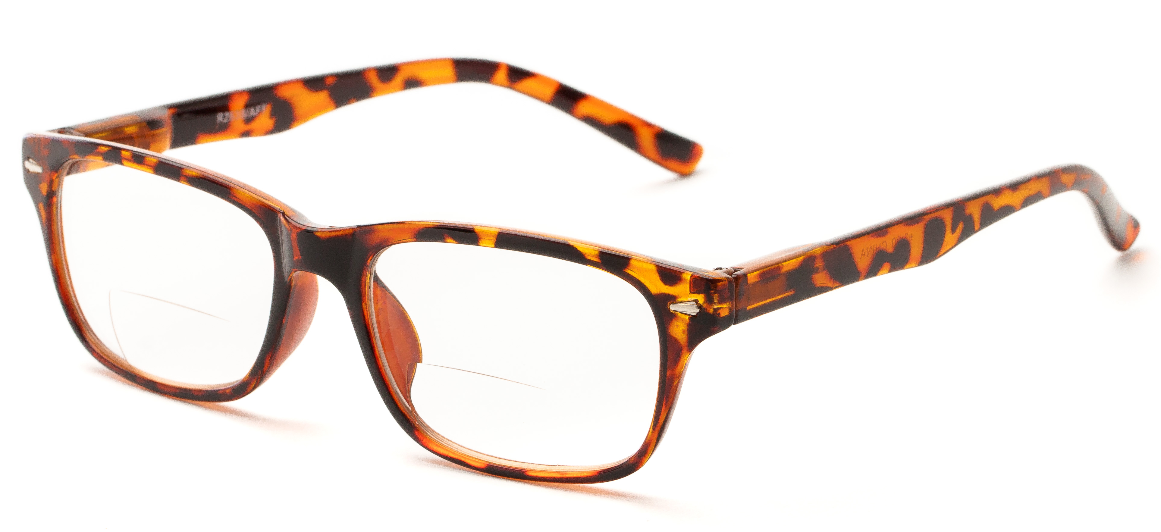 55220ab4e32 Readers.com The Williamsburg Bifocal Rectangle Bifocal Reading Glasses  Simple   Timeless - Walmart.com