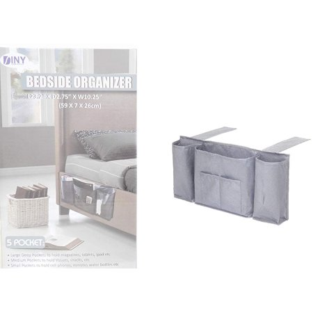 DINY Home & Style 5 Pocket Bedside Caddy - Bedside Caddy
