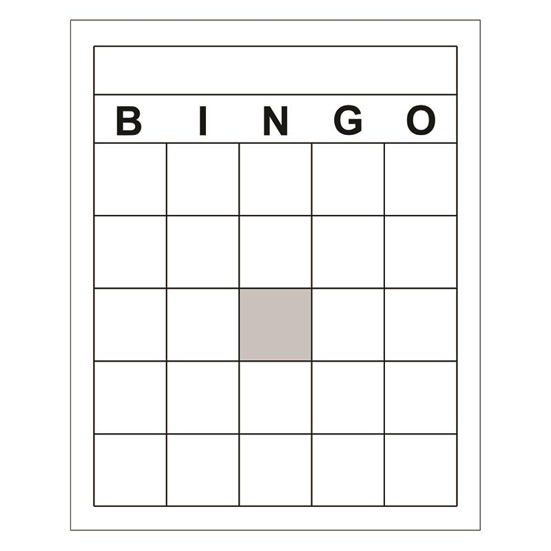 Blank Bingo Cards  WalmartCom