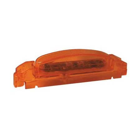 Grote 46933 Yellow Supernova Thin-Line Led Clearance Marker Light Body - Yellow