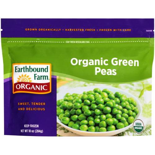 Earthbound Farm Organic Green Peas, 10 oz